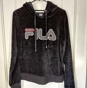 Black Velvet FILA 2 Piece Set
